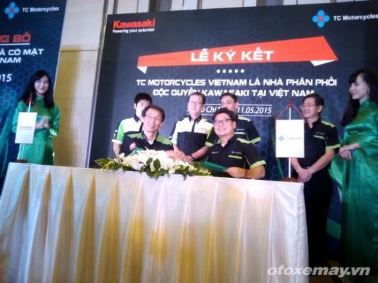 Xe Kawasaki chính hãng tại Việt Nam_ảnh1
