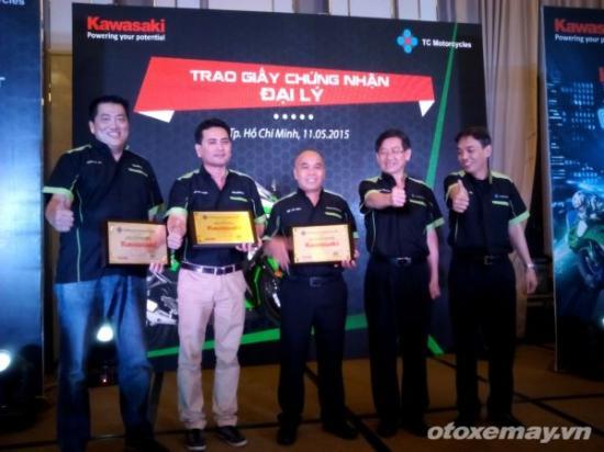 Xe Kawasaki chính hãng tại Việt Nam_ảnh2