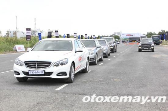 Mercedes-Benz khóa học lái xe 8