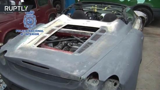 Siêu xe Ferrari và Lamborghini  bị phát hiện hàng giả 1