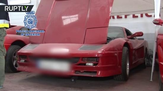 Siêu xe Ferrari và Lamborghini  bị phát hiện hàng giả 4