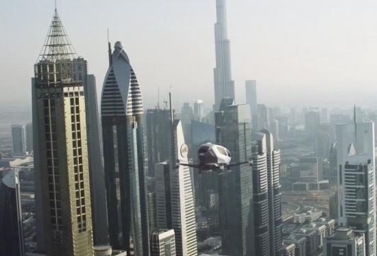 Dubai sắp có máy bay không người lái Ehang-184 1