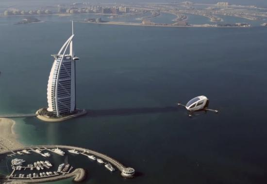 Dubai sắp có máy bay không người lái Ehang-184