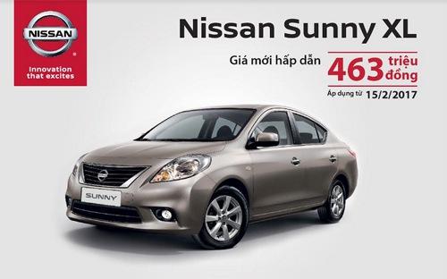 Xe Nissan Sunny giảm giá 35 triệu đồng