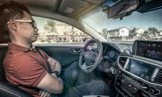 Samsung thử nghiệm xe tự lái tại Hàn Quốc