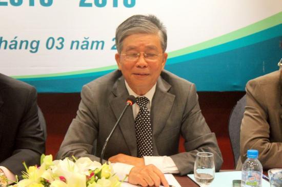Ông Phan Thế Ruệ -Chủ tịch Hiệp hội Xăng dầu Việt Nam. Ảnh: Petrotimes