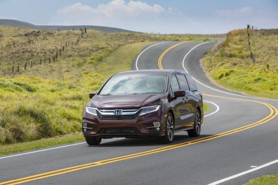 Xe Honda Odyssey 2018