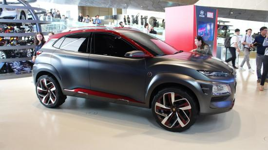 Xe Hyundai Kona Iron Man 1