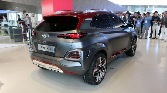 Xe Hyundai Kona Iron Man 2