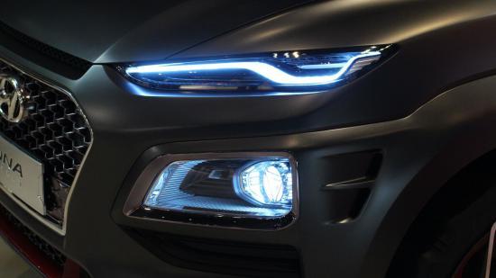 Xe Hyundai Kona Iron Man 3