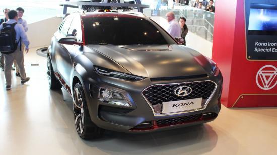 Xe Hyundai Kona Iron Man