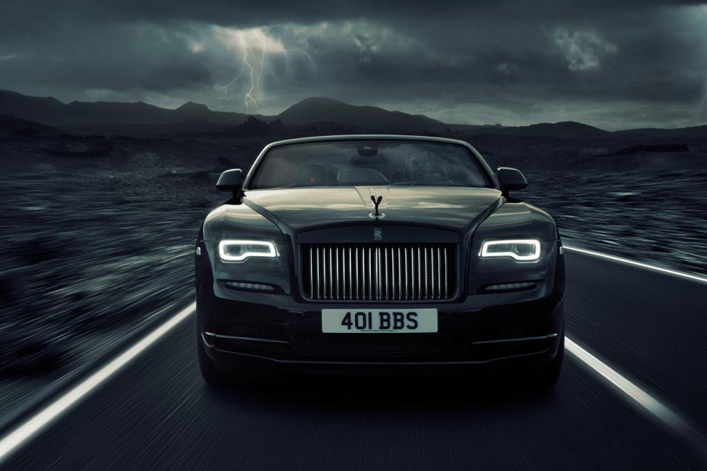 Xe Rolls-Royce Dawn Black Badge 4
