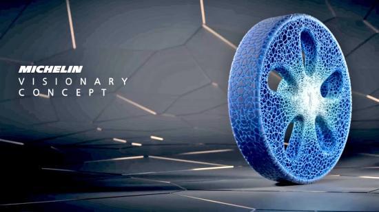 Lốp xe in 3D đầu tiên của Michelin