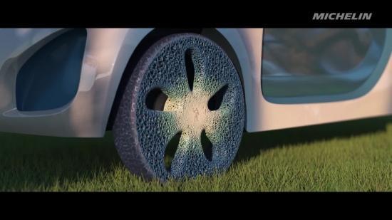 Lốp xe in 3D đầu tiên của Michelin 1