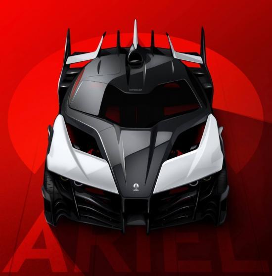 Siêu xe Ariel Hipercar
