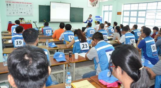 Kết quả chương trình lái xe ô tô an toàn cùng Honda Ô Tô Kim Thanh 2