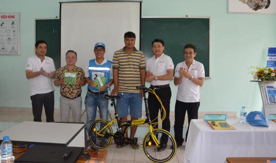 Kết quả chương trình lái xe ô tô an toàn cùng Honda Ô Tô Kim Thanh 4