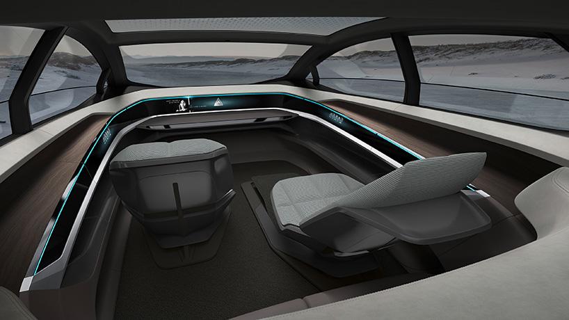 Xe tự lái Audi Aicon 7