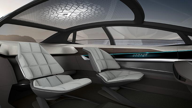 Xe tự lái Audi Aicon 8