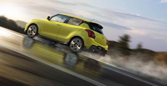 Xe Suzuki Swift Sport 3