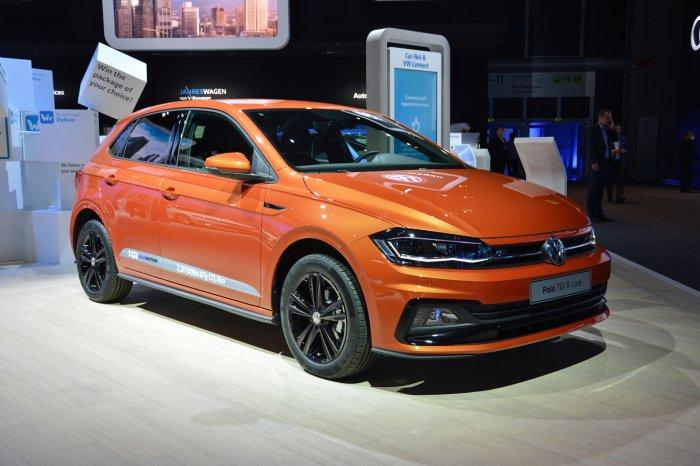 Xe Volkswagen Polo Frankfurt Motor Show 2017
