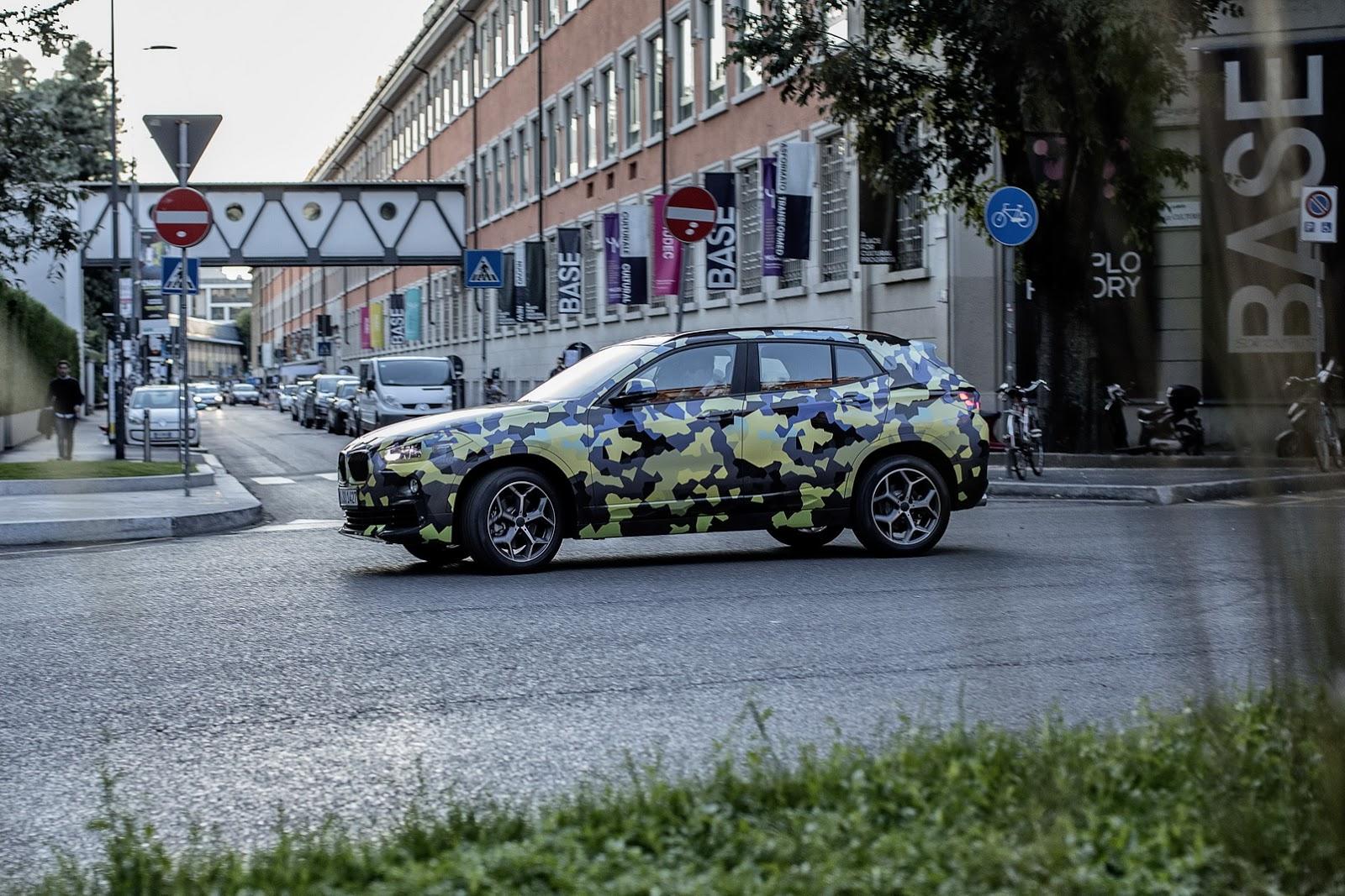 Xe BMW X2 Milan