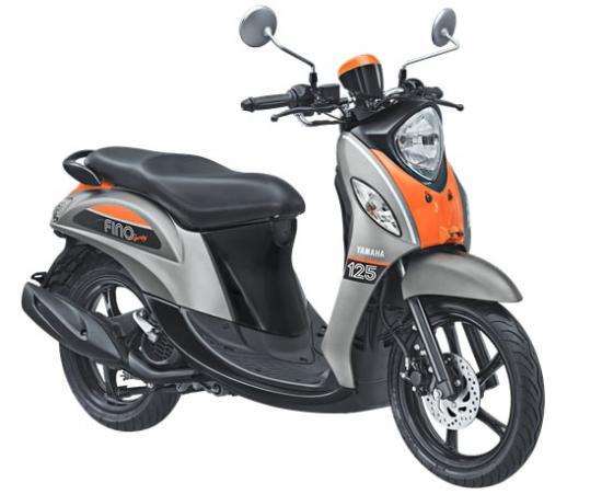 Xe tay ga Yamaha Fino 125 4