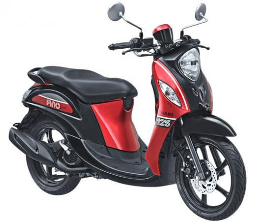 Xe tay ga Yamaha Fino 125 5