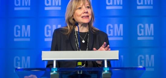 CEO GM Mary Barra