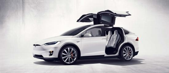 xe Tesla Model X 1