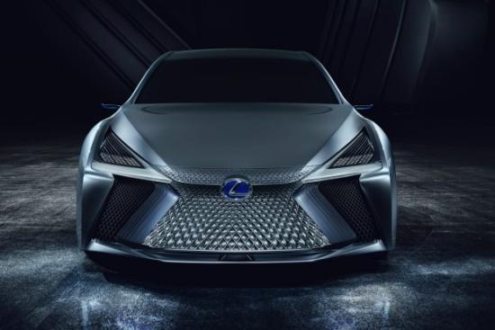 Xe Lexus LS+ Concept 1