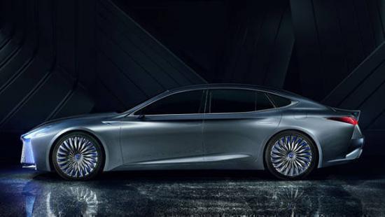Xe Lexus LS+ Concept 2