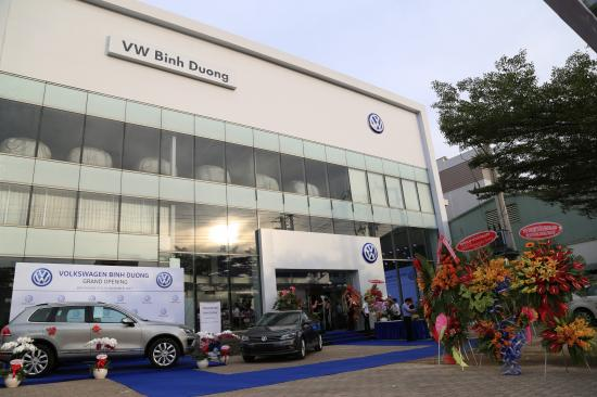 Volkswagen Việt Nam khai trương đại lý đạt chuẩn 4S tại Bình Dương 1