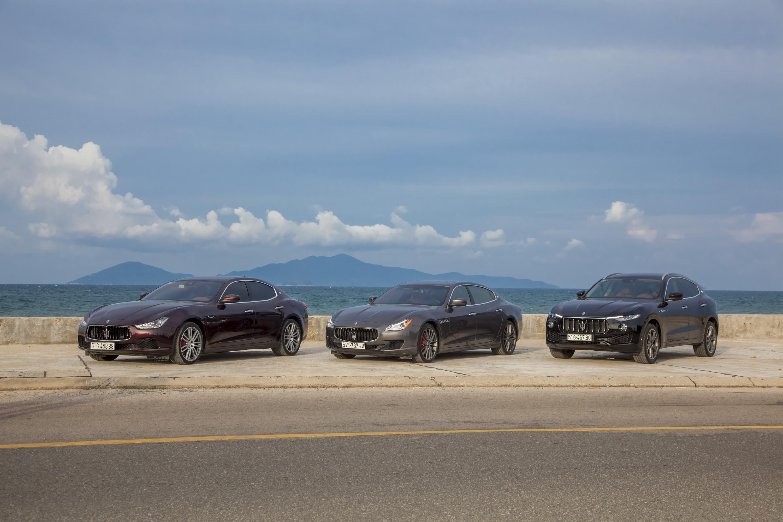 Thử xe Maserati 8