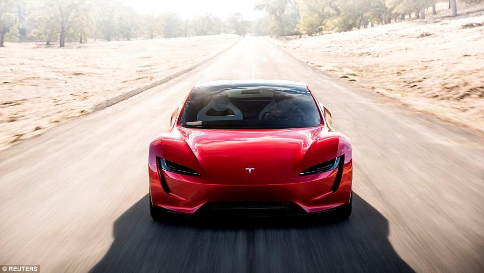 Xe Tesla Roadster thế hệ 2 1