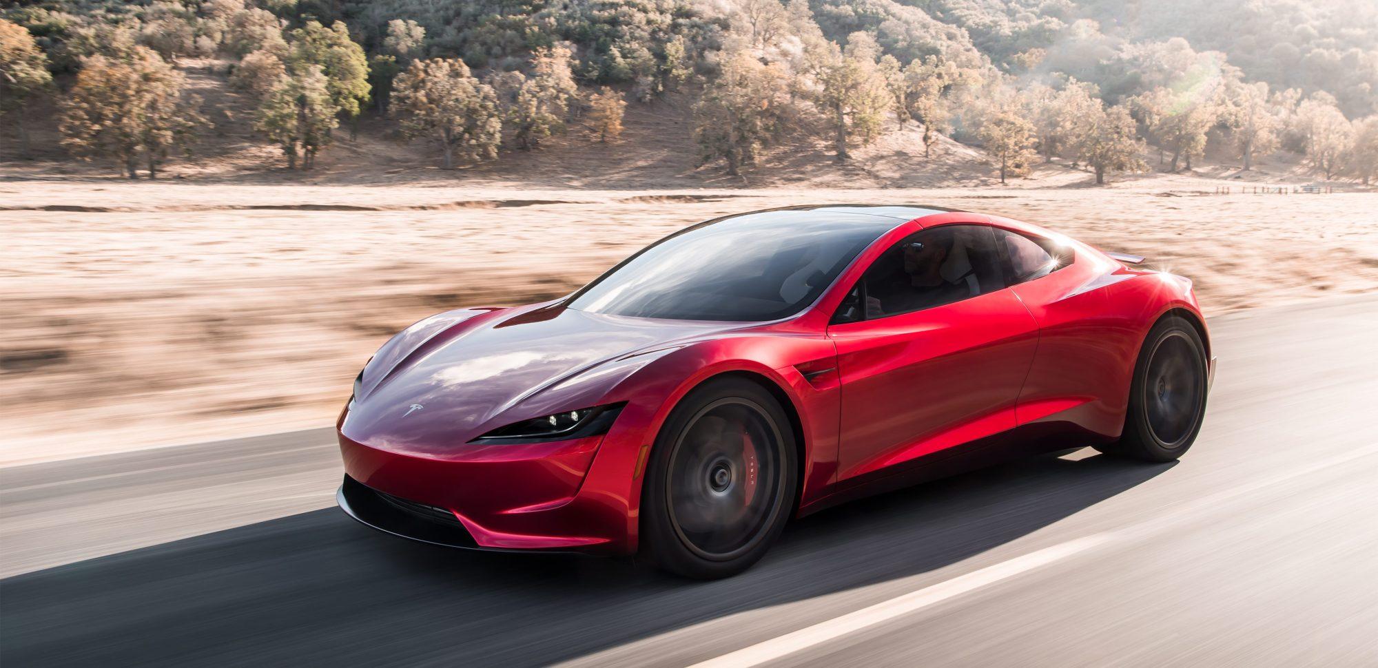 Xe Tesla Roadster thế hệ 2 4