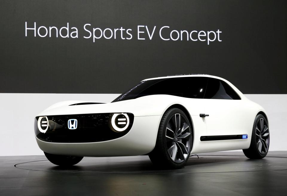 Xe Honda Sports EV concept