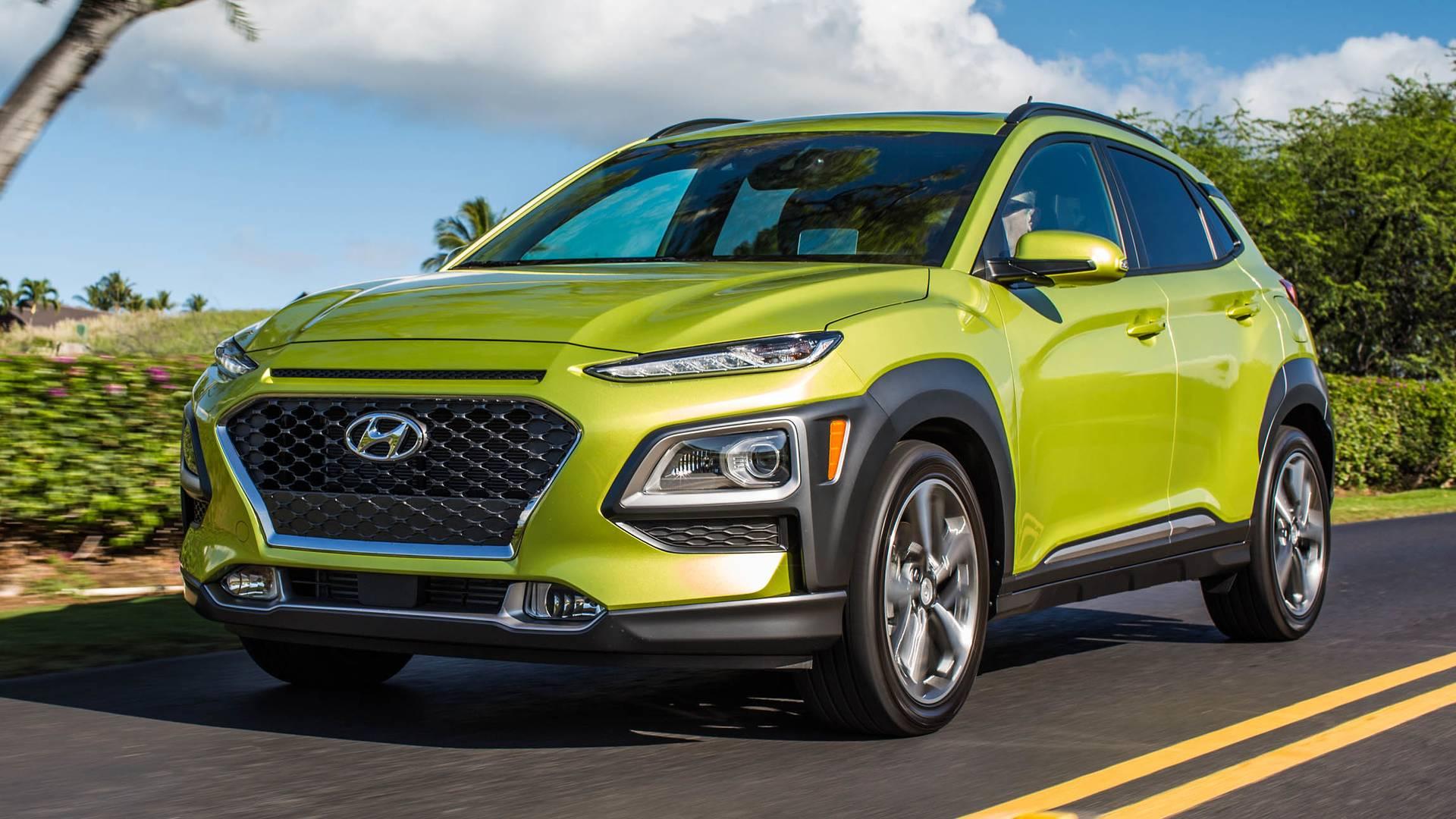 Xe Hyundai Kona 2018 1