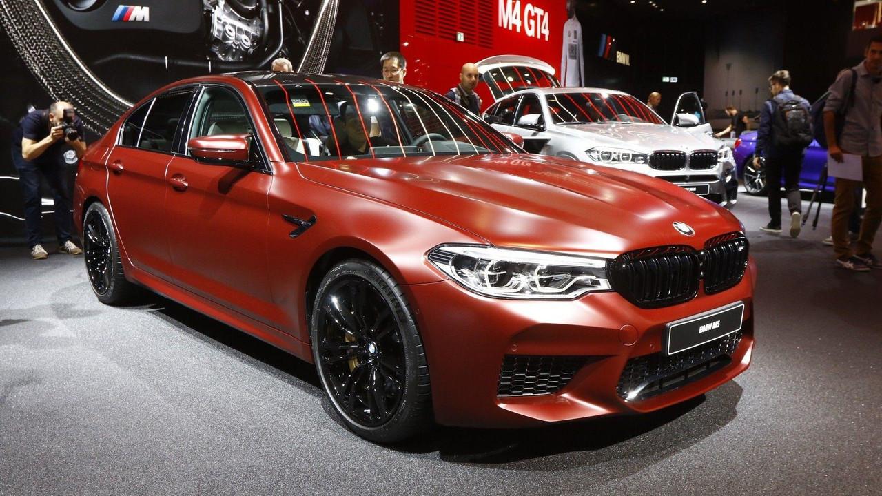 Xe BMW M5 2018 1