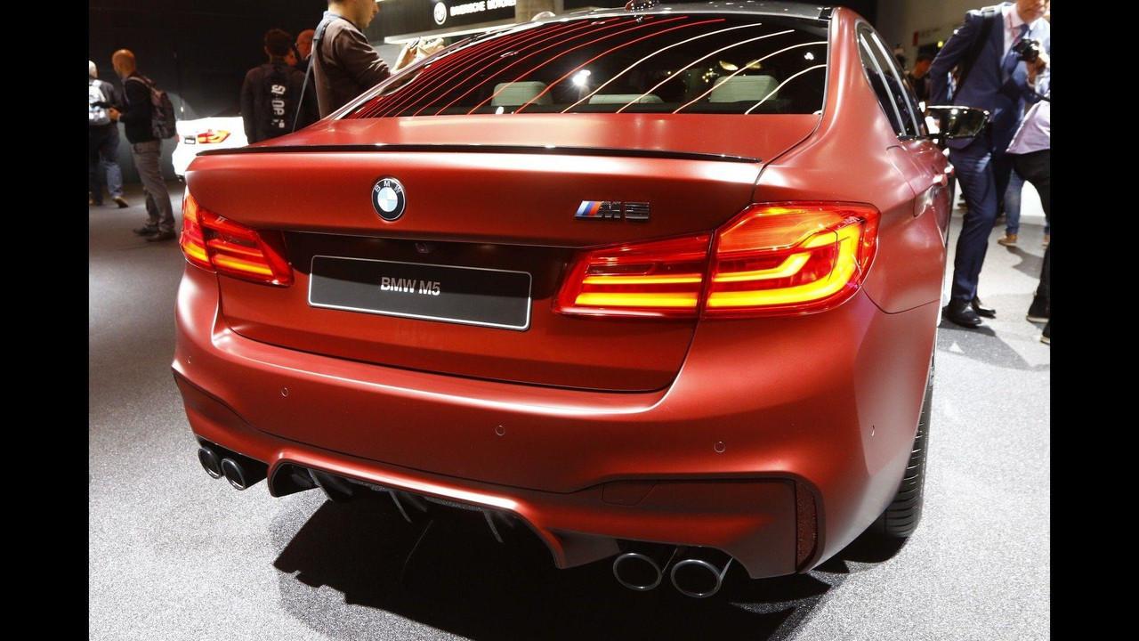 Xe BMW M5 2018 2