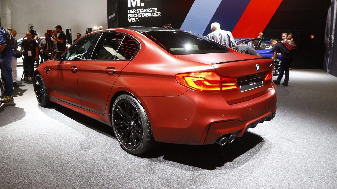 Xe BMW M5 2018 3
