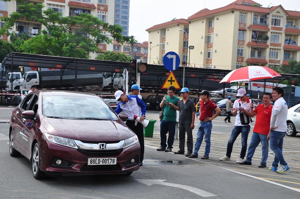 """Honda Ôtô Phước Thành tổ chức thành công """"Trải nghiệm lái xe an toàn cùng Honda"""" 1"""