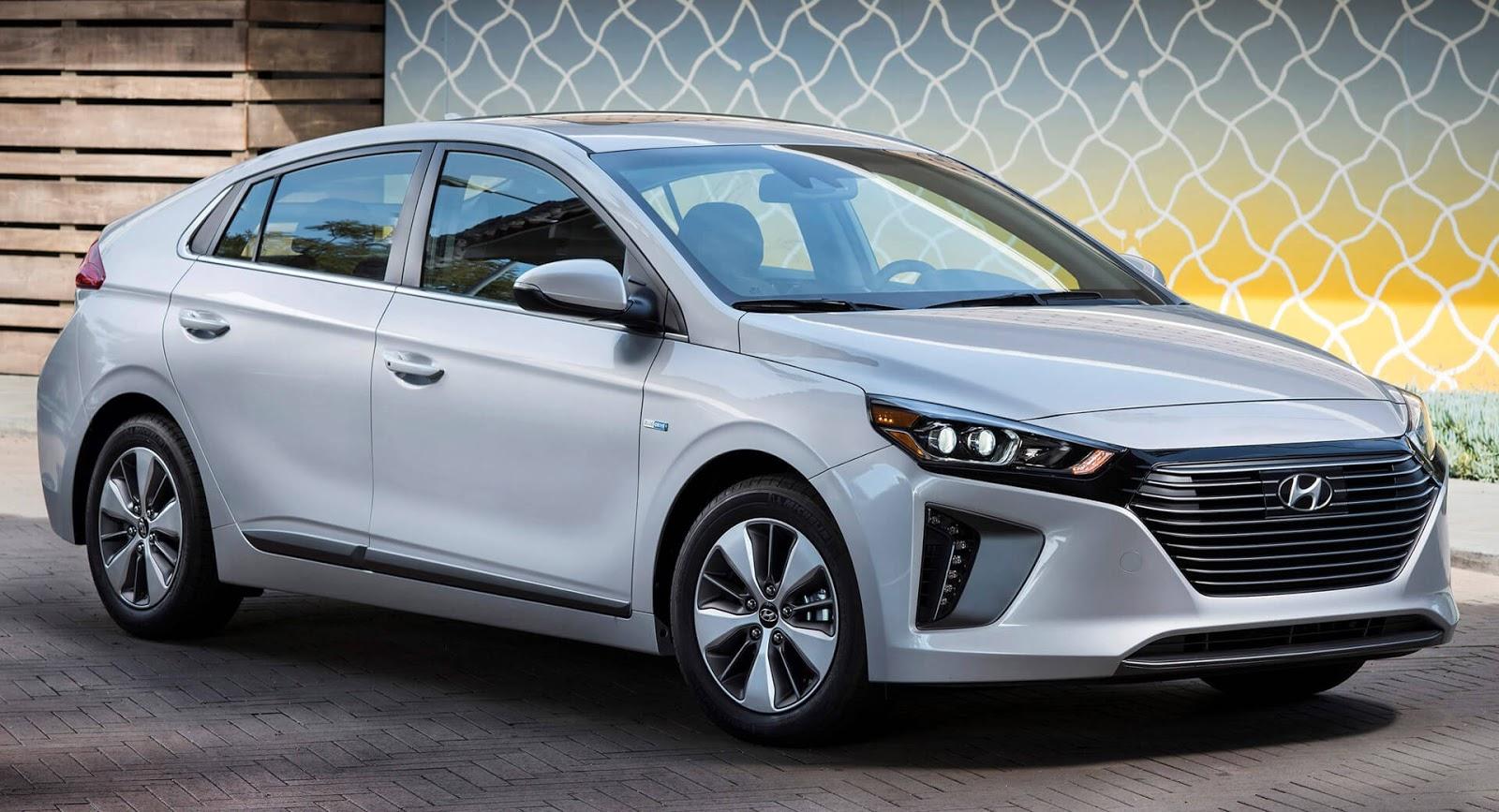 Hyundai Ioniq 2018 thêm bản Plug-in-Hybrid