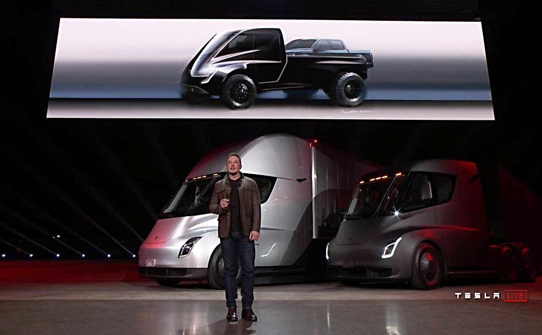 Sự kiện ra mắt xe tải điện Tesla Semi