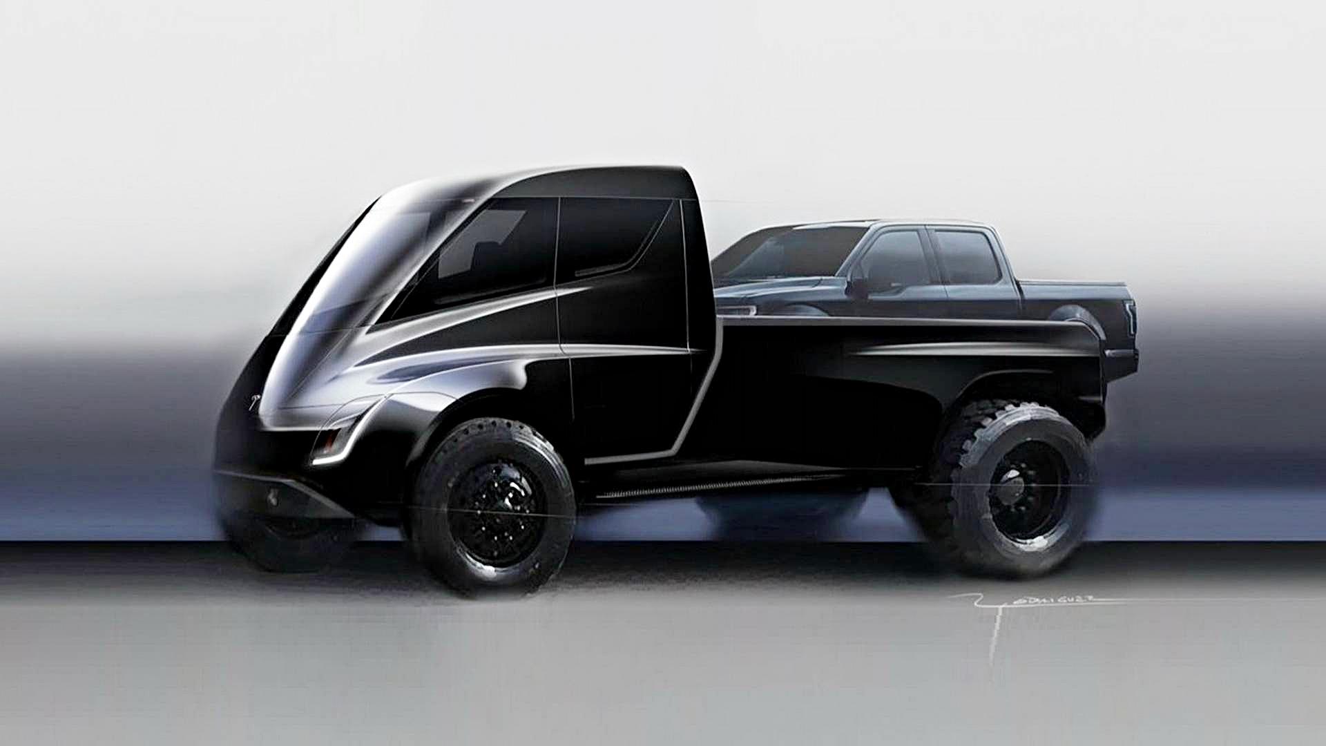 Xe bán tải Tesla