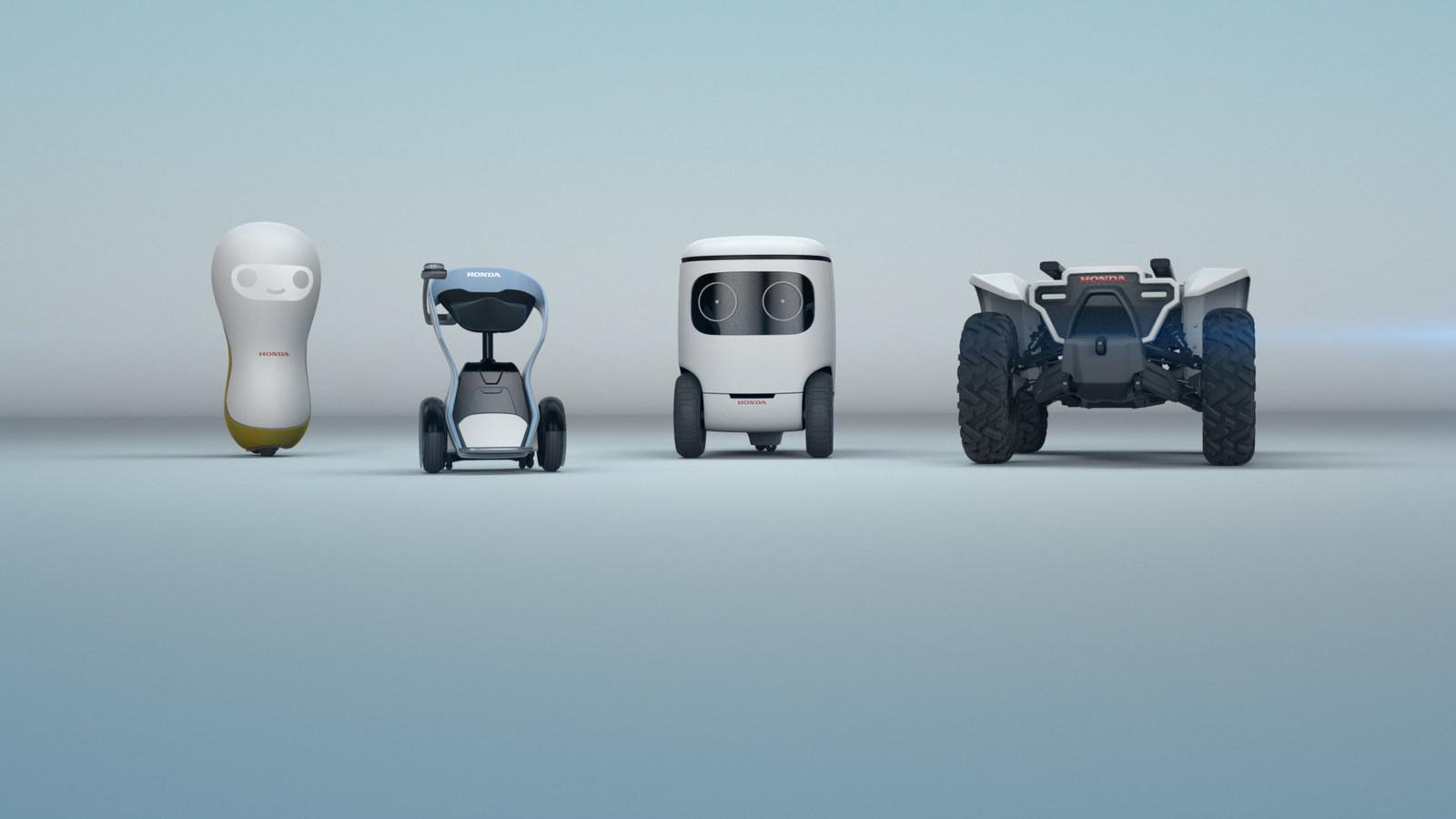 """Robot Honda """"tấn công"""" CES 2018"""