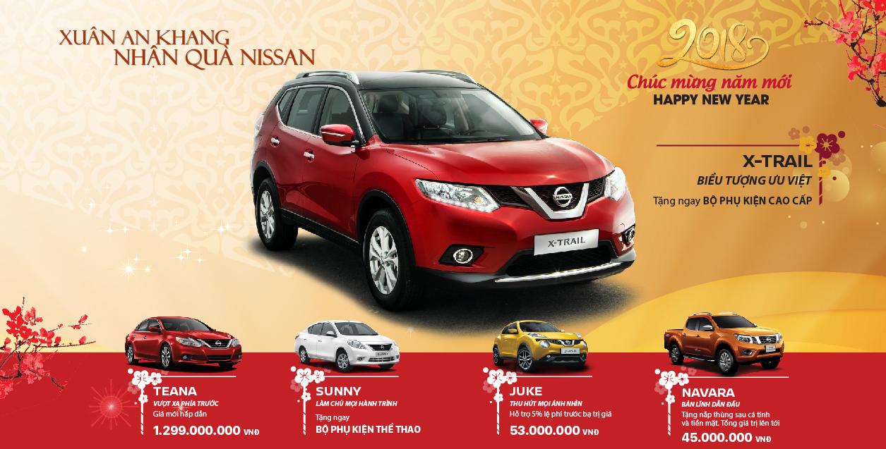 Xe Nissan khuyến mại