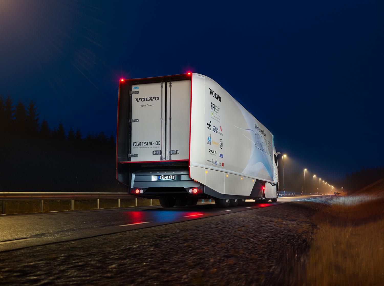 Xe tải điện Volvo 1
