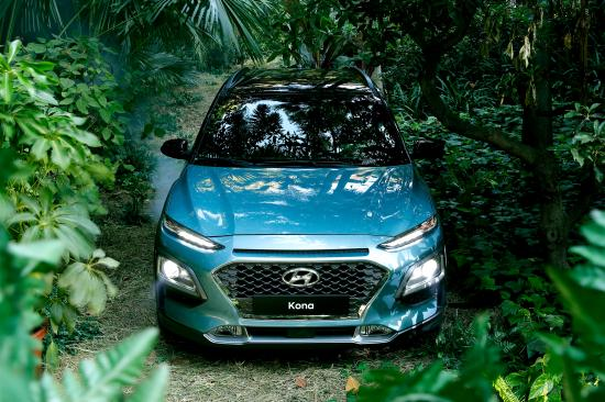 Xe Hyundai Kona SUV nhỏ nhiều trang bị khủng