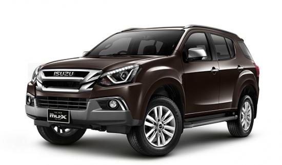 Isuzu ra mắt phiên bản nâng cấp SUV 7 chỗ mu-X